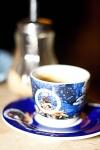 káva v cukrárně muzea