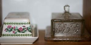Expozice v muzeu másla