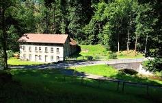 pohled na mlýn Dřevíček