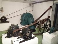 turbína v muzeu mlynářství