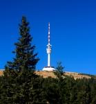 162 metrů vysoký vysílač je nejvyšším bodem v České republice