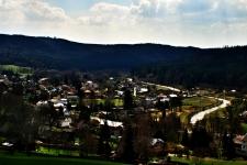 Pohled na Karlovice