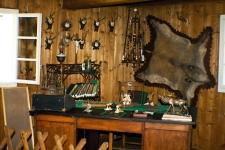 Expozice v muzeu Kosarna