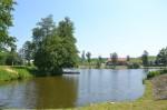 Obrázek rybníku na farmě