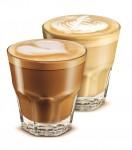 Dvě sklenky s kávou