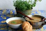 Houbová polévka z Kotrče