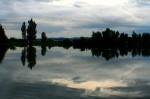 Fotografie Vodní nádrže Nové Mlýny od Pasohlávek směrem k Pavlovu a vrchu Děvín