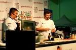 Vystoupení kuchařů na gastro food festivalu v Litoměřicích