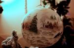 Vánoční ozdoby na zámečku Doubí v Karlových varech