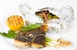 Obrázek kapra k příspěvku Recept:Grilovane filety z kapra marinovane v limetove stave se salveji
