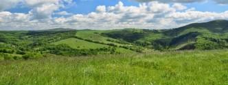 Na obrázku horská krajina Bílých Karpat