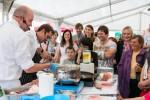 Prezentace kuchařů na gastronomických slavnostech v Litomyšli  Gastronomické slavnosti Magdaleny Dobromily Rettigové