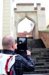 Plnění šifer a hádanek při zdolávání hry Cryptomania trail Bitva o Brno