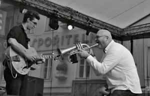 Výherní fotografie loňského ročníku  3. místo - RNDr. Karla Milcová – Jazz zněl Třeboní
