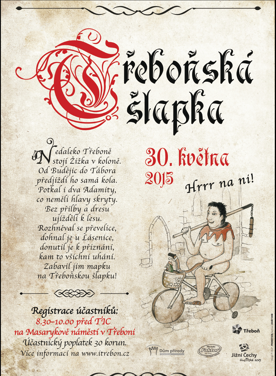 Pozvánka na zahájení cyklistické sezony- Třeboňská šlapka