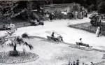 expozice lednich medvedu v zoo liberec 1958 historická fotografie expozice zoo