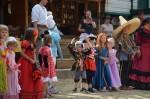 děti na karnevalu Šiklův mlýn