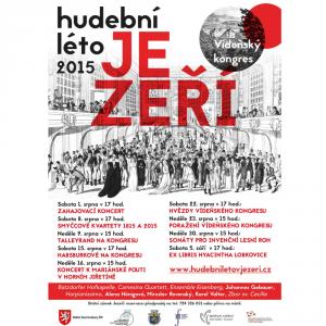 upoutávka na festivalové hudební léto na zámku Jezeří