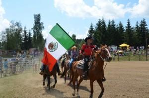 přehlídka koní- den koní ve westernovém městečku Šiklův mlýn