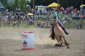 Junioři na koních - den koní ve westernovém městečku Šiklův mlýn