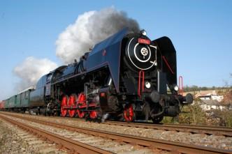 Parní lokomotiva Šlechtična
