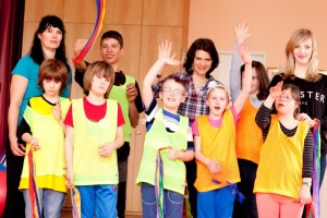 Děti v komunitním centru Motýlek