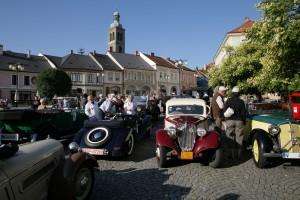 Sraz historických vozů v Kutné Hoře