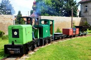 vláček pro děti, expozice muzea: železniční muzeum Zlonice