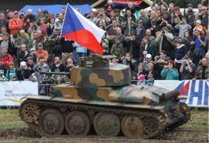 tank na tankovém dni v Lešanech