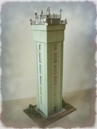 model rozhledny v muzeu Louny