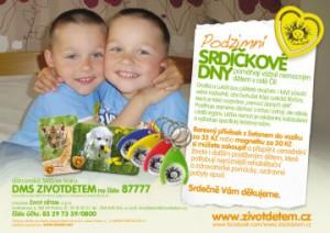 Pozvánka na pomoc dětem: podzimní srdíčkové dny