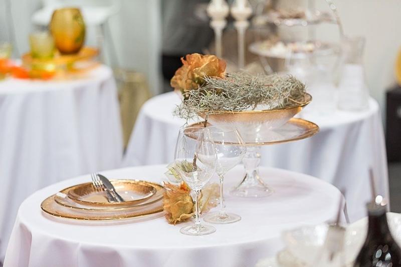 FOR GASTRO veletrh, na fotce je prostřený stůl