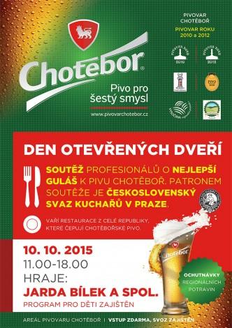pozvánka do pivovaru Chotěboř
