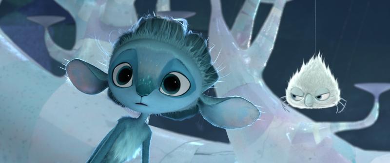 Hlavní hrdina pohádky Mune - strážce měsíce, postavička podobná elfovy Mune