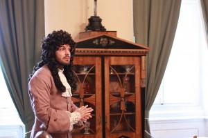 Prohlídky v kostýmech na zámku Krásný dvůr