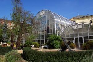 Skleníky botanické zahrady v Brně