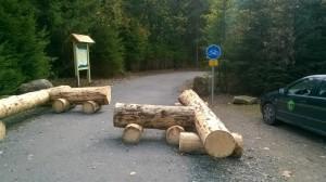 začátek Cyklostezky na Šumavě