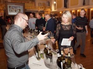 Degustace vín v Českém Krumlově