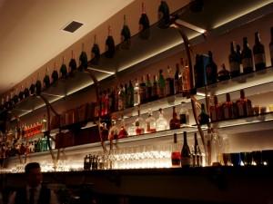 Bar v restauraci