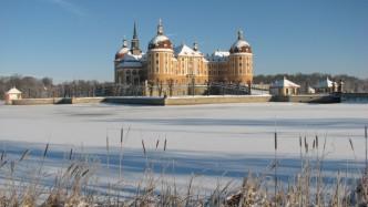 Zámek Moritzburk v zimně
