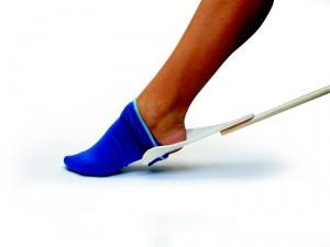 vyzouvák ponožek