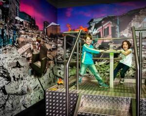 Vyzkoušejte si v iQLANDII simulátor zemětřesení