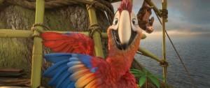 foto z filmu Robinson Crusoe NA OSTROVĚ ZVÍŘÁTEK