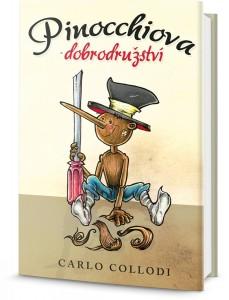 kniha Pinocchiova dobrodružství