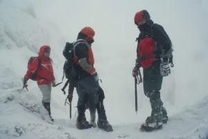 Parta horolezců v horách