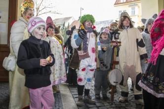 masopust v ZOO Chomutov - děti v kostýmech