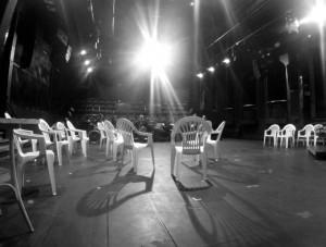 Jeviště divadla Disk
