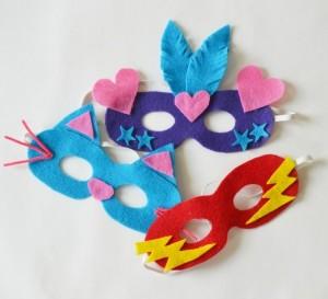 Masky k příležitosti prvního Vršovického masopustu