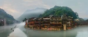 Čína-Fenghuang Dorf