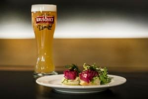 Párování piva s jídlem